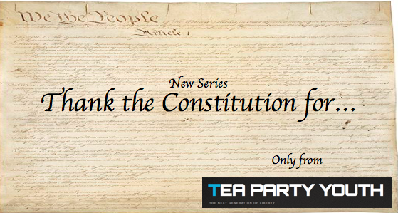 Thank the Constitution for this…..