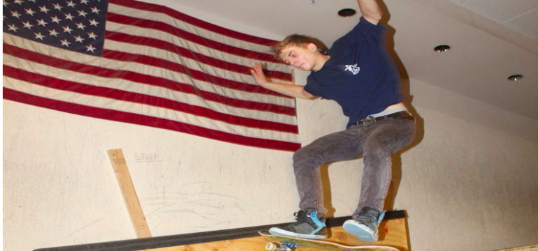 What does the constitution have to do with skateboarding?