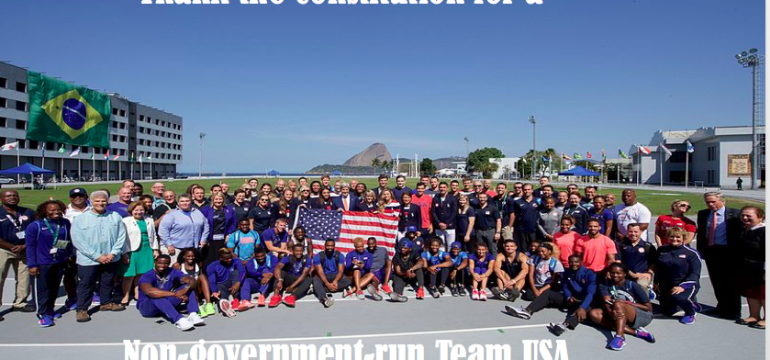 Thank the Constitution for a non-government-run Team USA
