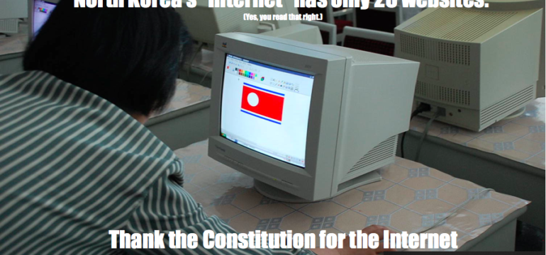 #ThankTheConstitution for the Internet